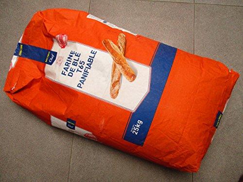 Weizenmehl T65 für Baquette 25 Kilo Sack