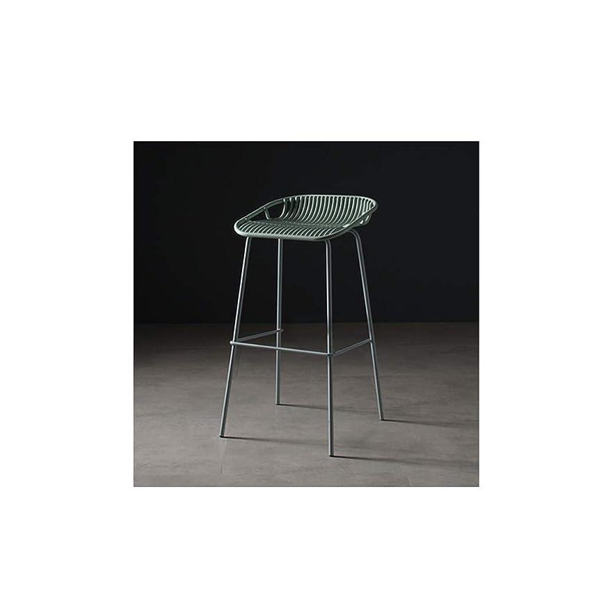 消費シミュレートするモニターLRZS-Furniture 北欧の鉄の芸術のバーチェア現代のシンプルなバーチェアバーチェアスタンドバースタンド屋外の家庭用バーチェア (色 : ブロンズ)