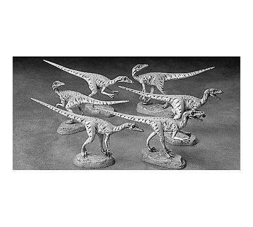 タミヤ 1/35 恐竜世界シリーズ No.05 ベロキラプトル 6体セット プラモデル 60105