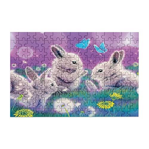 Rompecabezas de conejo de Disney para adultos, 150 piezas, rompecabezas de madera de descompresión para adultos y niños