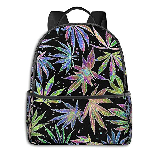 IUBBKI Men WomenRastafarian Reggae Rasta Style Camo Camouflage Laptop Backpack Lightweight Laptop Backpack Fashion Daypack Durable Book Bags for Sports Outdoors Running Travel