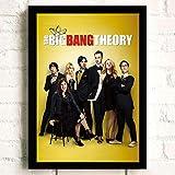Poster Drucke Wandmalerei The Big Bang Theory Tv Film