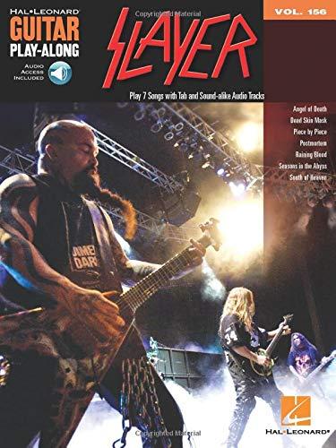 Guitar Play-Along Volume 156: Slayer (Lehrbuch für Gitarre): Noten, CD, Lehrmaterial für Gitarre