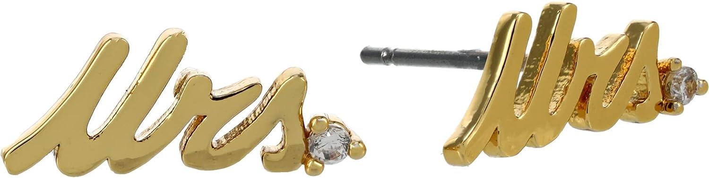 Kate Spade New York Say Yes Mrs. Studs Earrings