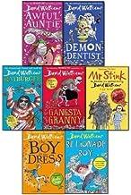 David Walliams Collection 7 Books Set Awful Auntie, Ratburger, Gansta Granny