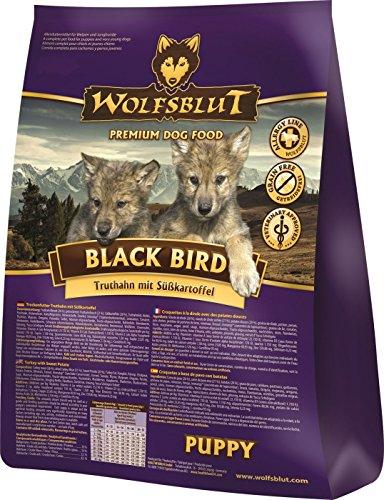 Wolfsblut - Black Bird Puppy - 15 kg - Truthahn - Trockenfutter - Hundefutter - Getreidefrei