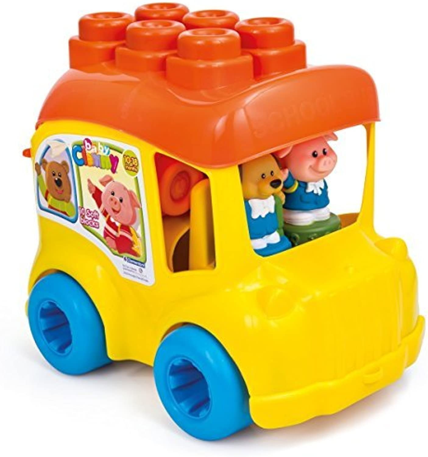 se descuenta Clemmy School Bus Bus Bus by Clemmy (6 - 18months)  promociones