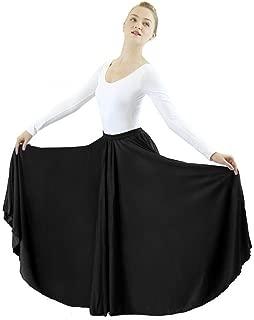 Womens Long Full Circle Dance Skirt