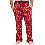 A Christmas Story Major Award with Leg Lamp Red Lounge Pants (Adult Large)