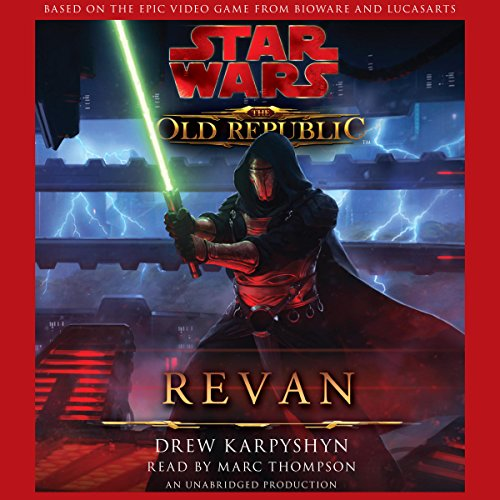 Star Wars: The Old Republic: Revan                   By:                                                                                                                                 Drew Karpyshyn                               Narrated by:                                                                                                                                 Marc Thompson                      Length: 10 hrs and 52 mins     7,594 ratings     Overall 4.6