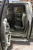 Tuffy 316-01 Full Width Under Rear Seat Lockbox for Ford F150 Crew Cab 2015+, Black