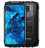 Blackview BV6800 Pro Smartphone Libres- Movil Todoterreno de 5.7 Pulgadas FHD +, Batería de 6580mAh de BAK (30 días en Espera), Impermeable IP68/A Prueba de Golpes/Octa Core 4GB+64GB - Negro