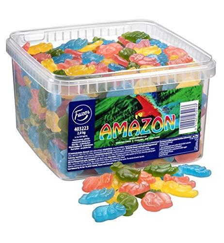 Fazer Amazonfruit Assorted Sweet Gummy 1 Box of 2kg