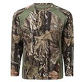Mossy Oak Men's Standard Lightweight Camo Shirts Hunting, Break-up Country, Large