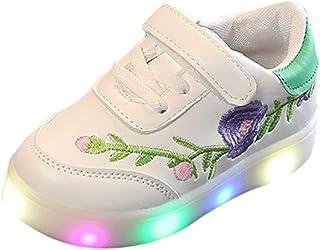 Scarpe Bambino con Luci LED Corsa Sportive Paillettes Scarpe Bambino Calcio Ginnastica Eleganti Bambini de Ragazzi Ragazze Stivaletti Casual Scarpe Scarpe Bambino con Luci Morbido