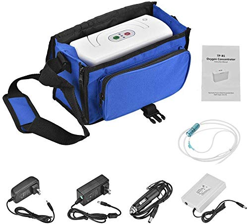 Lowest Price! ECH Portable Full Intelligent Home O-x-y-g-e-n Concentr-ator Gener-ator for Travel and...