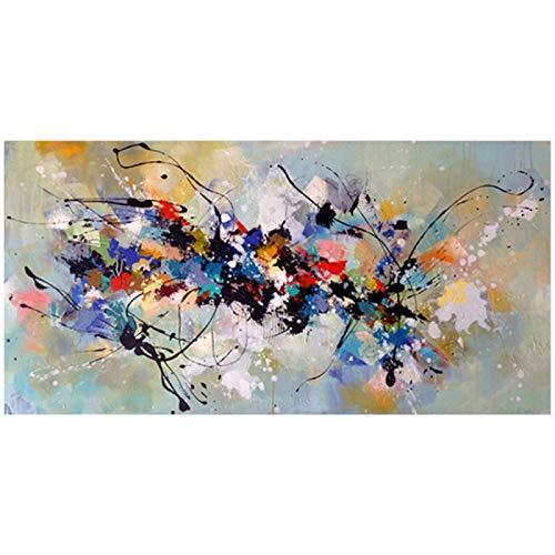 ZYHFBHFBH Pinturas sobre Lienzo Arte de Pared Cuadros Abstractos para Sala de Estar Dormitorio Pintura Decorativa Moderna para el hogar