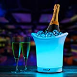 Vinsani LED Colour Changing Ice Bucket - Changes 7 Colours - Battery Operated