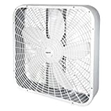 Impress IM-720BX 3-Speed Box Fan, 21 x 5 x 21, White