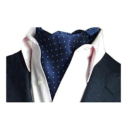 YCHENG Pañuelo Hombre Corbatas Moda Lunares Cravat Chalina para Banquete y Boda Fiesta A02