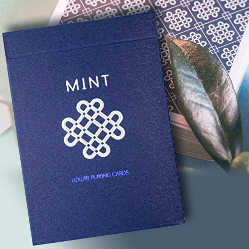 SOLOMAGIA Blueberry Mint Playing Cards