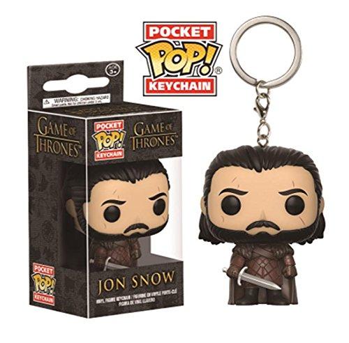 Funko Llavero de Vinilo Pocket Pop! Key Game of Thrones - Jon Snow