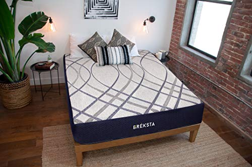 Breksta Calypso 12 Inch Gel Memory Foam Roll Compressed Boxed Mattress Luxury Plush Softer Feel CertiPur-US (Queen)
