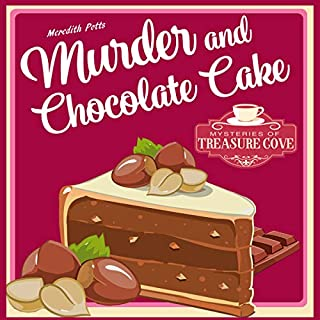 Murder and Chocolate Cake audiobook cover art