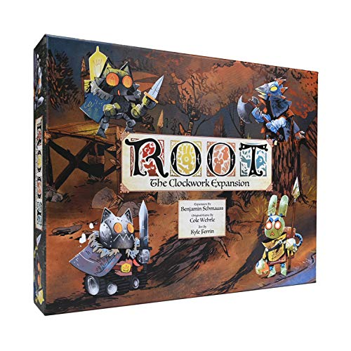 Leder Games Root: The Clockwork Expansion - EN, Mehrfarbig, LED01009
