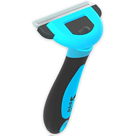 petgle Dog Brush and Cat Brush Effectively Reduces Shedding Professional Grooming Brush and Deshedding Tool for Dogs and Cats