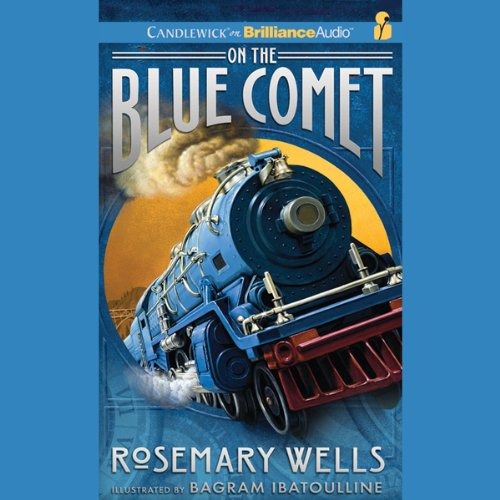 On the Blue Comet audiobook cover art