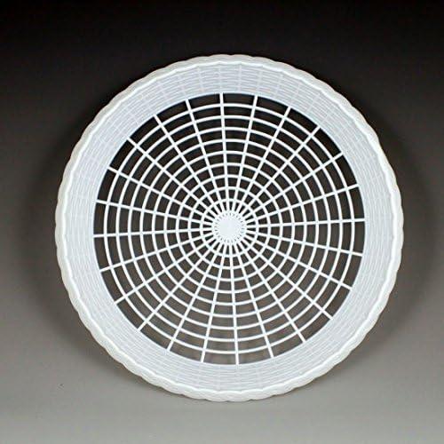 seguro de calidad Plastic 9 9 9 Paper Plate Holders in blanco Maryland Plastics, 8 plate holders per unit by Maryland Plastics  diseño único