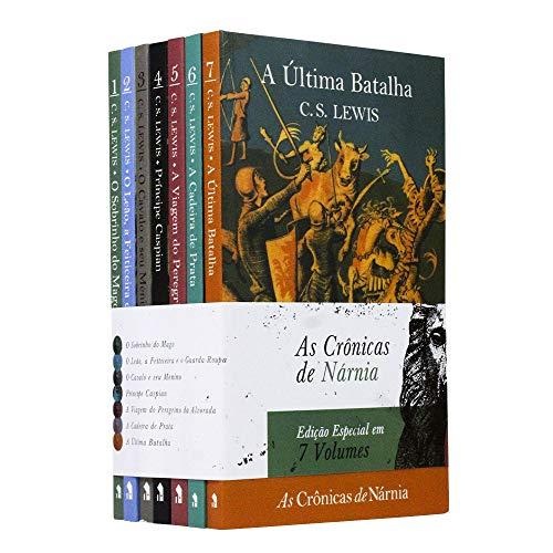Box 07 Livros | Coleção Completa As Crônicas de Nárnia - C. S. Lewis