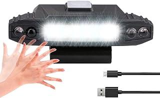Tuipong USB Oplaadbare Clip Cap Lamp,COB Hat Clip Light Cap Hat Torch Head Light voor Outdoor Vissen Camping Koplamp Licht