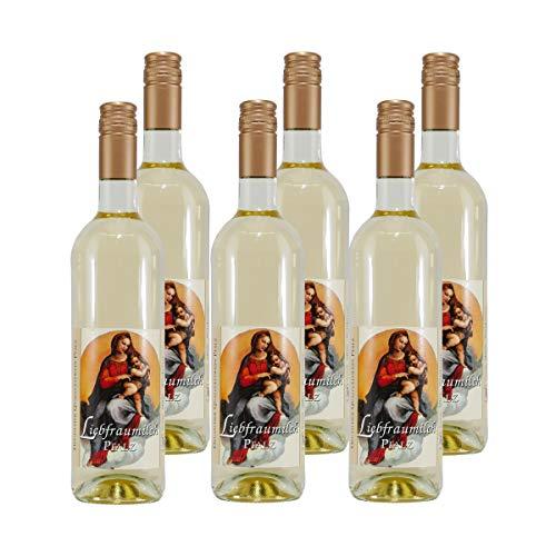 Palmberg Liebfrauenmilch QbA - Pfalz Weißwein (6 x 0,75L)