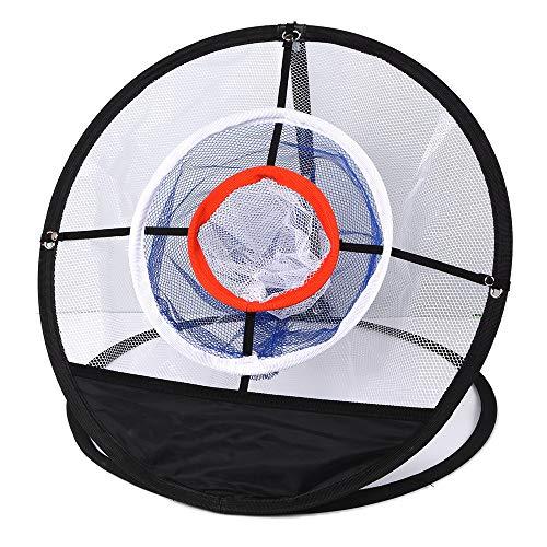 QHGao Pop-Up-Chip-snijnet voor golfclubs binnen en buiten, trainingshulpnet, gemakkelijk te dragen en te vouwen, mannen