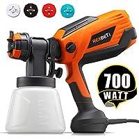 REXBETI 700 Watt High Power Paint Sprayer with 1000ml Container
