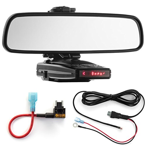 Buy Radar Mount Mirror Mount + Direct Wire Power Cord + Micro Fuse Tap Escort 9500ix X50 8500 (30015...