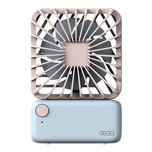 Ventilador USB Portátil De Mano Ventilador Sobremesa De Mano Ventilador Más Silencioso Recargable Ventilador Pequeño Oficina Ventilador Coche 11X7.5X2.8 CM