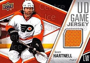 (CI) Scott Hartnell Hockey Card 2011-12 Upper Deck Jersey Series One GJSH Scott Hartnell