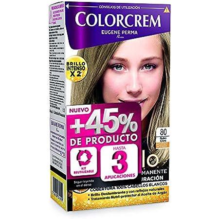 COLORCREM tinte Rubio Ceniza Nº 71 caja 1 ud: Amazon.es: Belleza