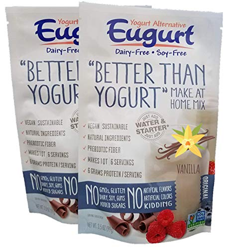 'Better Than Yogurt' Make At Home Mix (Dairy and Soy Free!) (Vanilla, 2-Pack)