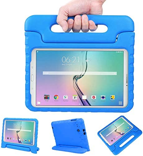 NEWSTYLE Tab E 9 6 Case Shockproof Light Weight Protection Handle Stand Kids Case for Samsung product image