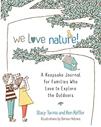 """We Love Nature"" Journal for the whole family"
