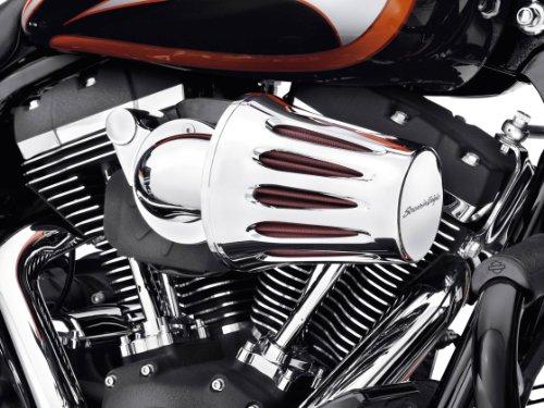 Air Filter Cover Chrom Screamin Eagle Tropfenform Harley Davidson Motorräder