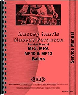 Massey Ferguson 10 12 3 9 Baler Service Manual (MH-S-MF3,9,10+)