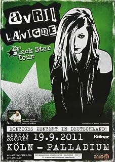Avril Lavigne - Black Star 2011 - Poster, Concertposter, Concert