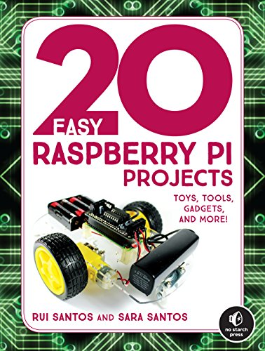 20 Easy Raspberry Pi Projects: Toys, Tools, Gadgets, and More!