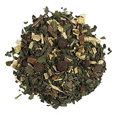 Aromas de Té - Infusión Libertad - Digestiva - Con Regaliz, Hierbabuena, Jengibre y Canela - Infusión Refrescante Herbal Con Toque Picante - 100 gr.