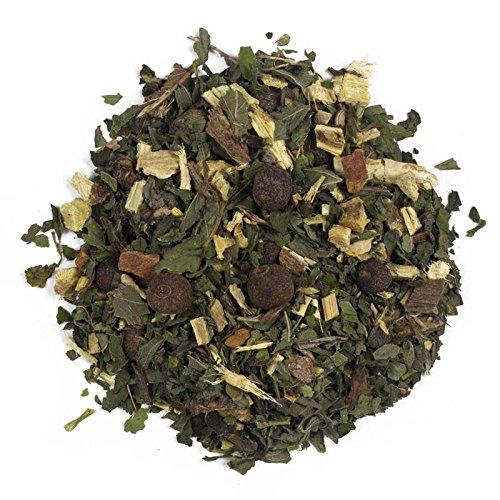 Aromas de Te - Infusion Libertad - Digestiva - Con Regaliz, Hierbabuena, Jengibre y Canela - Infusion Refrescante Herbal Con Toque Picante - 100 gr.